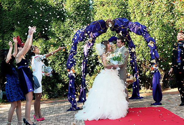 Выездная регистрация брака сценарий текст